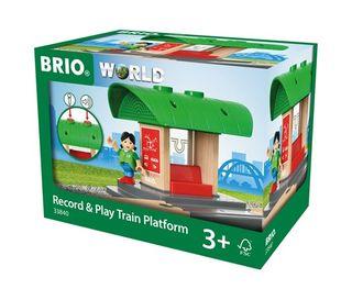 BRIO RECORD & PLAY TRAIN PLATFORM 33840