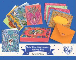 LOVELY PAPER CORRESPONDENCE SET AURELIA