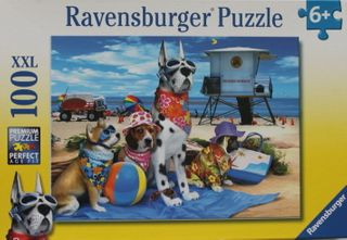 NO DOGS ON THE BEACH PUZZLE 100 PCE