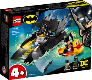 BATBOAT THE PENGUIN PURSUIT 76158