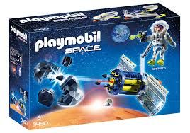 PLAYMOBIL SATELLITE METEOROID LASER 9490