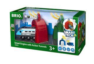BRIO SMART ENGINE W/ ACTION TUNNEL 33834