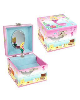 MYSTIC MERMAID SMALL MUSIC BOX PALE PINK
