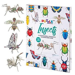 PUZZLE BOOK INSECTS