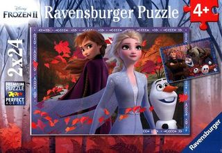 FROZEN 2 FROSTY ADVENTURES 2X24 PCES
