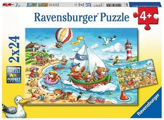 SEASIDE HOLIDAY PUZZLE 2X24 PCE