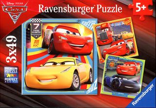 DISNEY CARS 3 COLLECTION 3X49 PCE