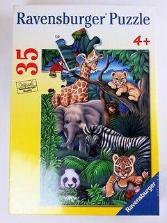 ANIMAL KINGDOM PUZZ 35 PCE
