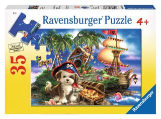 PUPPY PIRATE PUZZLE 35 PCE