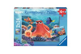 DISNEY FINDING DORY PUZZ 2X24 PCE