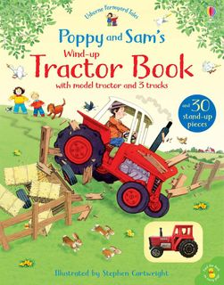 WIND UP TRACTOR FARMYARD TALES BOOK