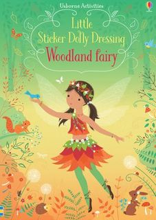 LITTLE STICKER DOLLY DRESSING WOOD FAIRY