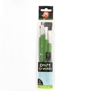 CRAFT BRUSH PACK OF 5
