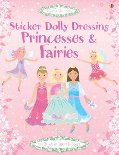 STICKER DOLLY DRESSING PRINCESS & FAIRY