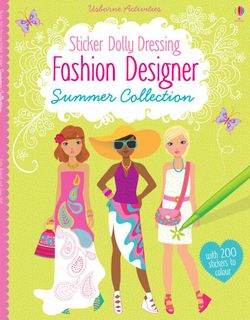 STICKER DOLLY DRESSING FASHION SUMMER