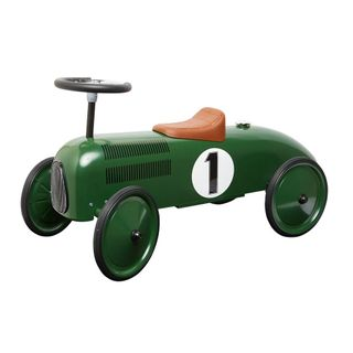 METAL RIDE ON RACING CAR GREEN