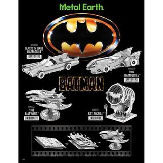 METAL EARTH BATMAN CLASSIC BAT SIGNAL