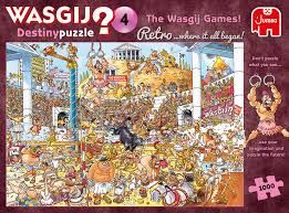 WASGIJ RETRO DESTINY - 4 THE WASGIJ GAME