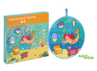 DARTBOARD GAME MERMAID TREASURE