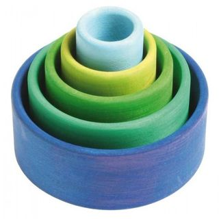 GRIMMS SMALL BOWLS OCEANBLUE