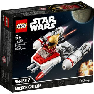 RESISTANCE Y-WING MICROFIGHTER 75263