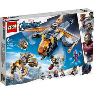 AVENGERS HULK HELICOPTER RESCUE 76144