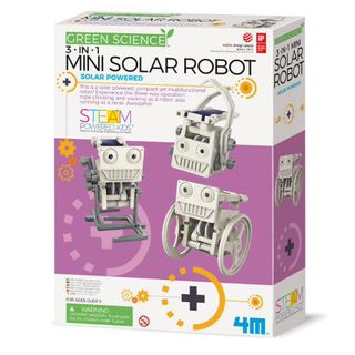 GREEN SCIENCE 3 IN 1 MINI SOLAR ROBOT