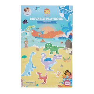 MOVEABLE PLAYBOOK DINO ISLAND