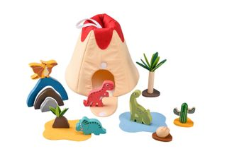 DINOSAUR PORTABLE PLAYSET