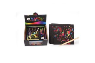 JAR MELO SCRATCH NOTES RAINBOW