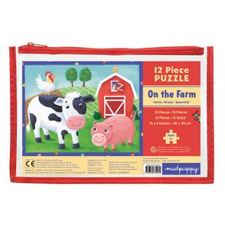 BB 12 PIECE PUZZLE ON THE FARM