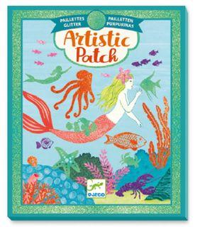 ARTISTIC PATCH GLITTER OCEAN