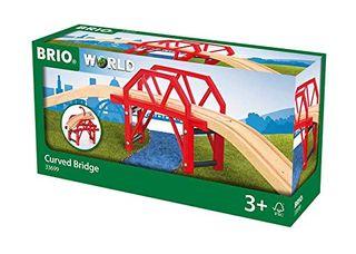 BRIO CURVED BRIDGE 4 PCS 33699