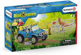 OFF-ROAD VEHICLE WITH DINO OUTPOST 41464