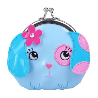 CUTE LITTLE PETS PUPPY COIN PURSE BLUE