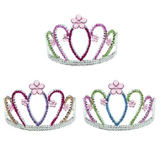 FLOWER GARDEN GLITTER CROWN