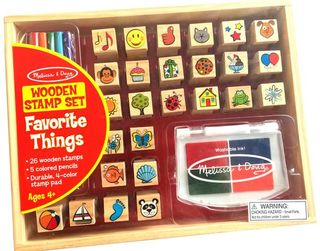 STAMPS SET FAVORITE OBJECTS