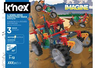 KNEX 4WD DEMOLITION TRUCK BUILDING SET