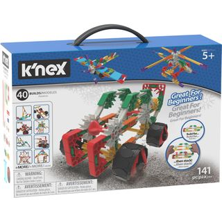 KNEX BEGINNER 40 MODEL BUILDING SET