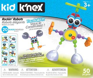 KNEX KIDS ROCKIN' ROBOTS BUILDING SET