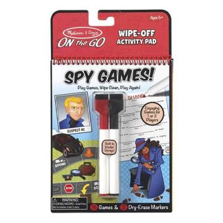 ON THE GO SPY GAMES