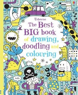 BEST BIG BOOK OF DRAWING, DOODLING DRAWI