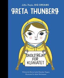 LITTLE PEOPLE BIG DREAMS GRETA THUNBERG