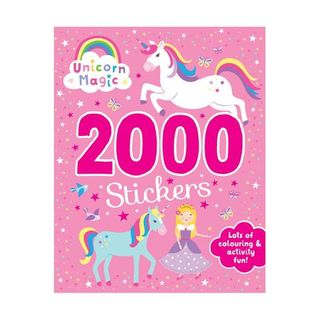 2000 STICKERS UNICORN MAGIC