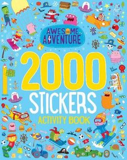 2000 STICKERS AWESOME ADVENTURE