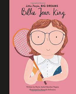 LITTLE PEOPLE BIG DREAMS BILLIE JEAN KIN