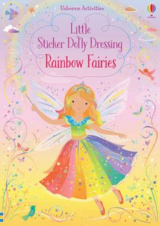 LITTLE STICKER DOLLY DRESSING RBOW FAIRY