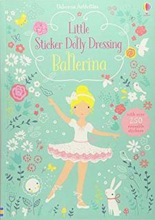 LITTLE STICKER DOLLY DRESSING BALLERINA