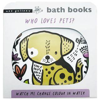 BATH BOOK WHO LOVES PETS