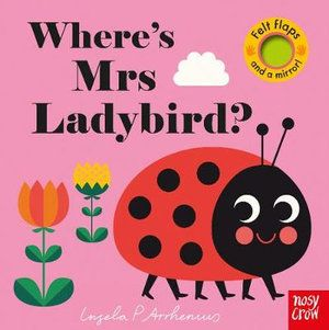 FELT FLAPS WHERE'S MRS LADYBIRD